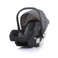 Chipolino Car seat Estelle 0-13 kg with adapter, grey mist