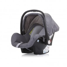 Chipolino Car seat Havana 0-13 kg with adapter, grey mist
