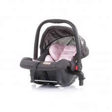 Chipolino Car seat Adora 0-13 kg with adapter, peony pink