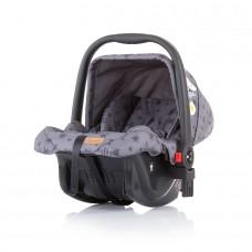 Chipolino Car seat with adaptor Milo graphite