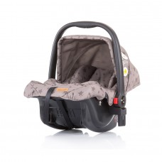 Chipolino Car seat with adaptor Milo mocca
