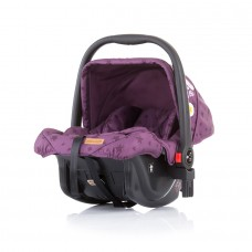 Chipolino Car seat with adaptor Milo orchid