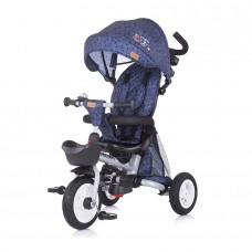 Chipolino Tricycle 360 with canopy Vector denim