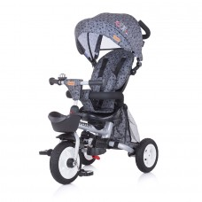 Chipolino Tricycle 360 with canopy Vector graphite