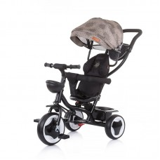 Chipolino Tricycle with canopy Jazz, vanilla
