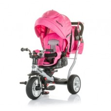 Chipolino Tricycle with canopy Nextro pink