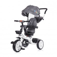 Chipolino Tricycle with canopy Carretera graphite