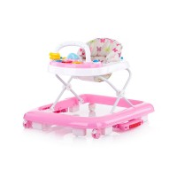 Chipolino Baby walker 3 in 1 Rocky, peony pink