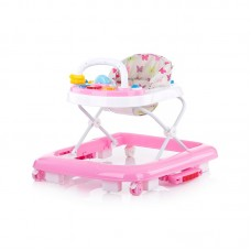 Chipolino Baby walker 3 in 1 Rocky, peony pink