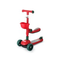 Chipolino Scooter with music Neo Rider, red