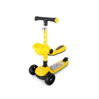 Chipolino Scooter with music Neo Rider, yellow
