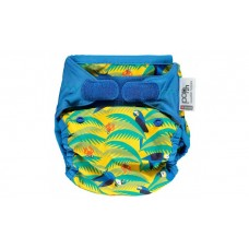 Close Parent Pop-in Single Printed Reusable Nappy Wrap Parrot