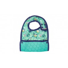 Close Parent Reversible Bib 6m+ Garden