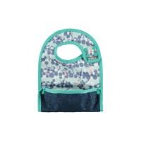 Close Parent Reversible Bib 6m+ Snow leopard