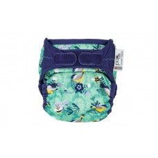 Close Parent Single Printed Nappy Garden