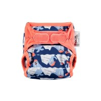 Close Parent Single Printed Nappy Walrus