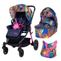 Cosatto Wowee 2 in 1 Baby stroller, Club Tropicana
