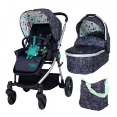 Cosatto Wowee 2 in 1 Baby stroller, My Town