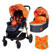 Cosatto Wowee 2 in 1 Baby stroller, So Orangey