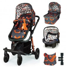 Cosatto Giggle Quad Baby stroller 3 in 1 Charcoal Mister Fox