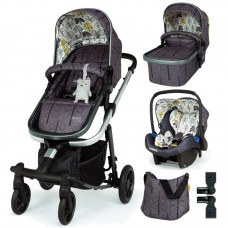 Cosatto Giggle Quad Baby stroller 3 in 1 Fika Forest