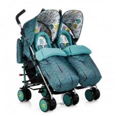 Cosatto Бебешка количка за близнаци Supa Dupa Fjord