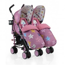 Cosatto Supa Dupa Happy Stars Twin Stroller