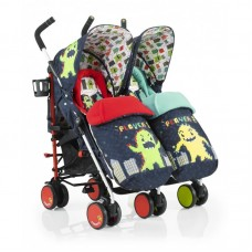 Cosatto Supa Dupa Monster Arcade Twin Stroller