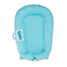 Cotton Nug Baby Nest, blue