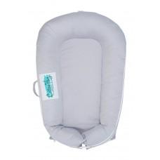 Cotton Nug Baby Nest, grey