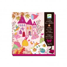 Djeco Create Stories Princesses Stamps