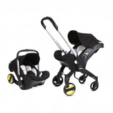 Doona Car Seat and Stroller, Black