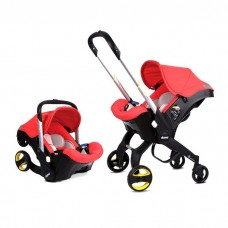 Doona Car Seat and Stroller, Red
