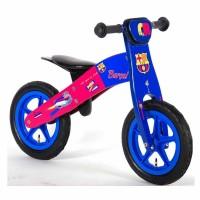 E&L Company Дървено колело за баланс ФК Барселона, 12 инча