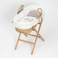 Funnababy Кошче - легло за бебе Taupe
