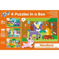 Galt 4 puzzles in a box, Forest World
