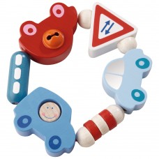Haba Baby wooden rattle Cars