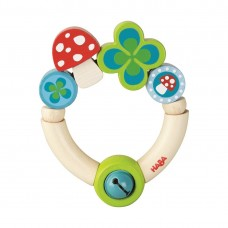 Haba Baby wooden rattle Luck
