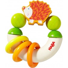 Haba Baby wooden rattle Hedgehog