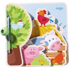 Haba Baby book Farm Friends