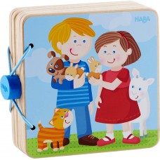 Haba Wooden Baby book Animal Kids