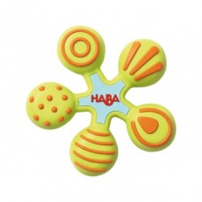 Haba Baby Teether Star, green
