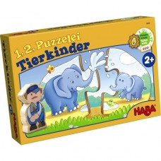 Haba One,Two, Puzzle-to-do Zoo