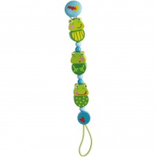 Haba Soother clip Frogs