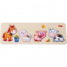 Haba Wooden Puzzle Little animals