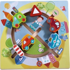 Haba Wooden board game Traffic in the City