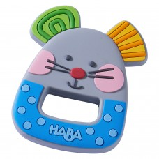 Haba Silicone Baby Teether Mouse