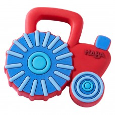 Haba Silicone Baby Teether Tractor