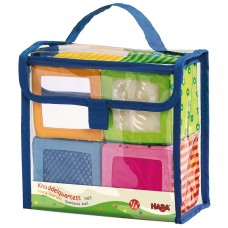 Haba Soft colored Cubes in a Bag