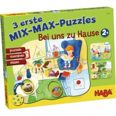 Haba 3 First Mix Max Puzzles At home